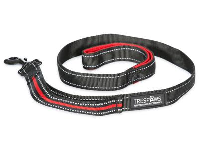 Trespaws Buster - Hundesnor 1 meter - Rød/Sort