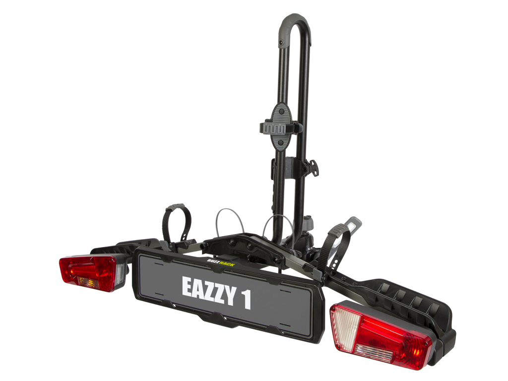 Buzzrack Eazzy-1 - Cykelholder til 1 cykler - 13-pol - Sammenklappelig