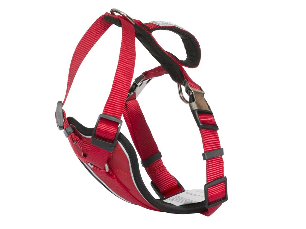 Trespaws Tanked - Hundesele - Rød