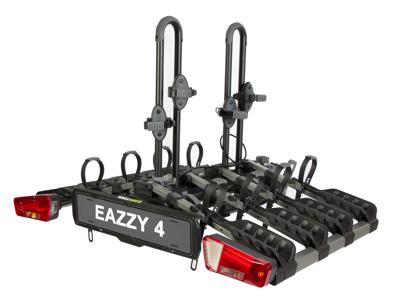 Buzzrack Eazzy-4 - Cykelholder til 4 cykler - 13-pol - Sammenklappelig