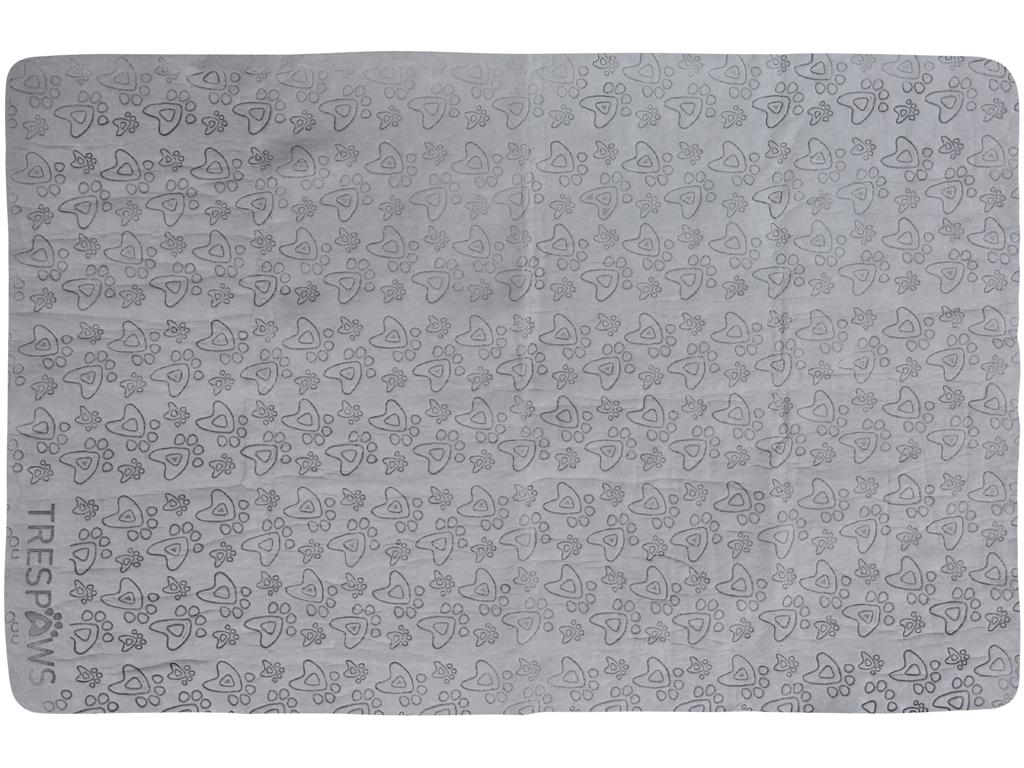 Trespaws Sooty - Håndklæde absorberende til hunde - Grå | svømmetøj og udstyr