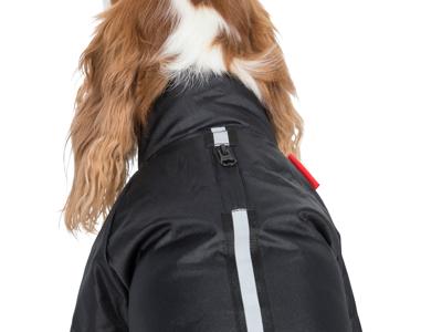 Trespaws Khaos - Hundedækken vind- og vandtæt - Sort