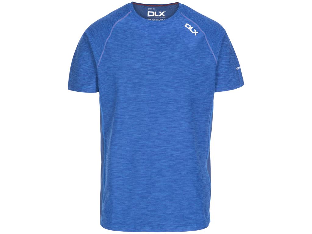 DLX Cooper - T-Shirt - Quickdry - Blå - Str. S thumbnail