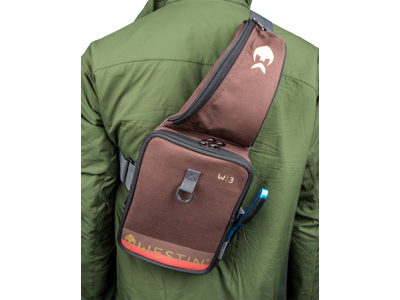 W3 Street Sling Medium Grizzly Brown/Black