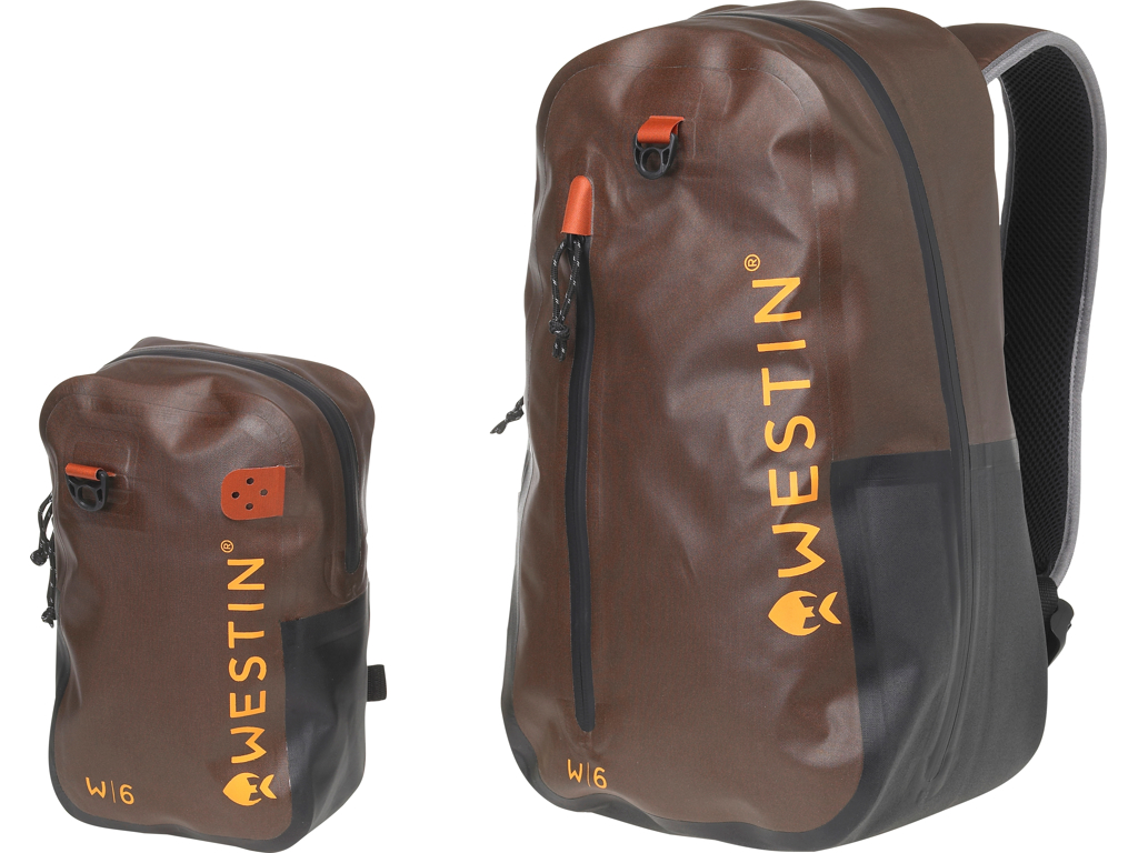 W6 Wading Backpack/Chestpack Grizzly Brown/Black