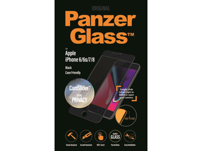 PanzerGlass iPhone 6/6S/7/8 sort Privacy CamSlider