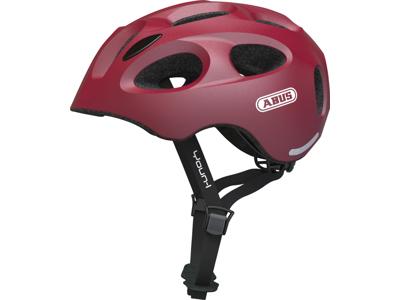 Abus Youn-I - Cykelhjelm - Rød - Str. 48-54cm