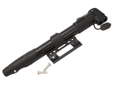 Atredo - Minipumpe - Til alle ventiltyper - 8 Bar/120 psi - Inklusiv beslag - Sort