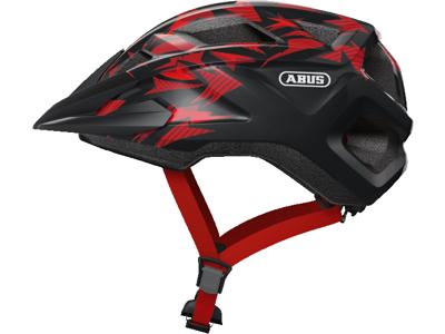 Abus MountZ - Cykelhjelm - Rød/sort