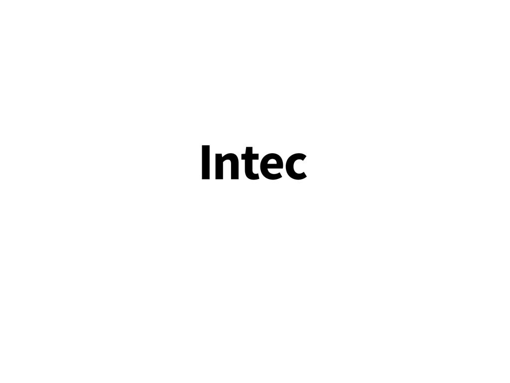 Växelöra till Intec-cyklar