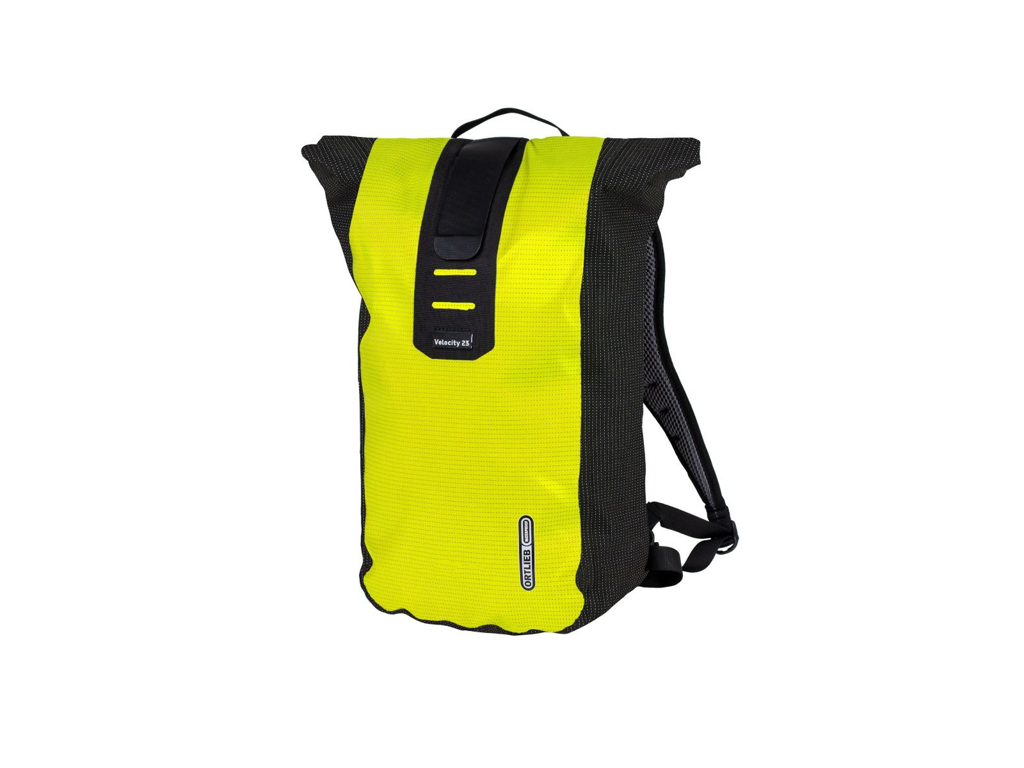 Image of   Ortlieb Velocity High Visibility - Rygsæk - 23 liter - Gul / sort