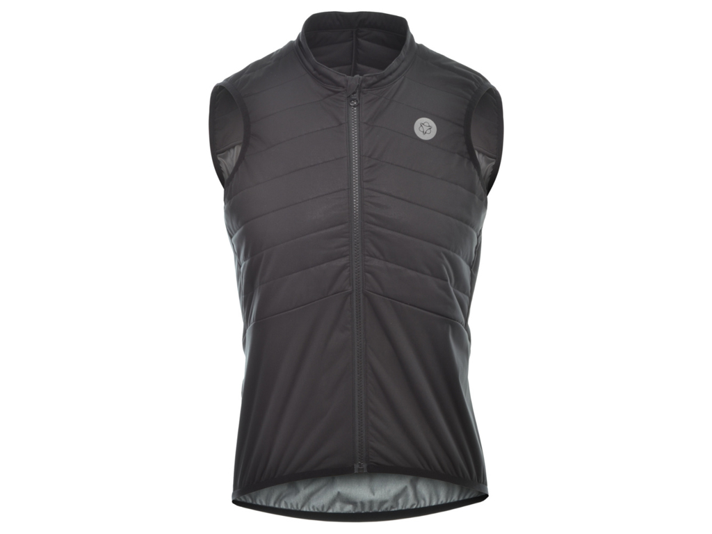 AGU Body Padded - Isolerende Cykelvest - Sort - Str. L thumbnail