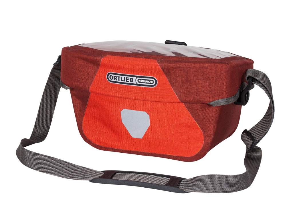 Ortlieb Ultimate Six Plus - Styrtaske - 5 liter - Rød