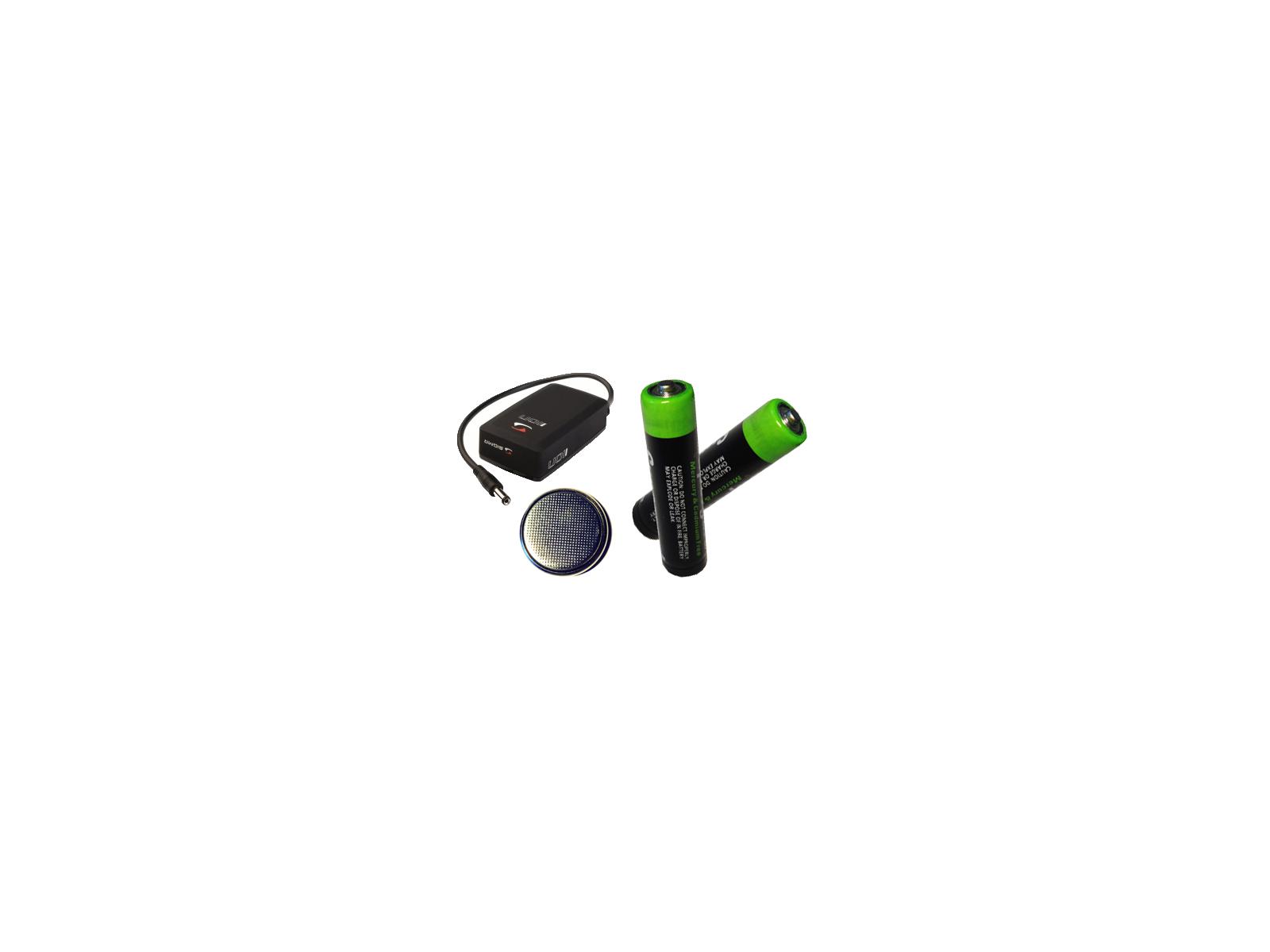 Batterier till cykellyktor