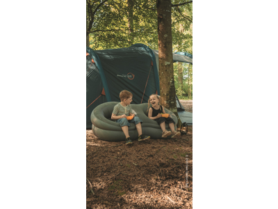 Easy Camp Movie Seat Double - Oppustelig stol - Sort