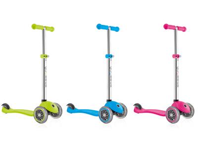 Globber Primo V2 - Løbehjul til børn med 3 hjul