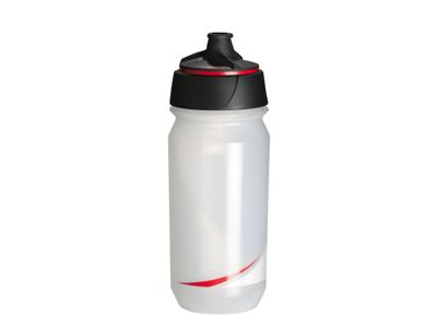 Tacx Shanti Twist - Drikkeflaske - 500 ml - Transparent/rød