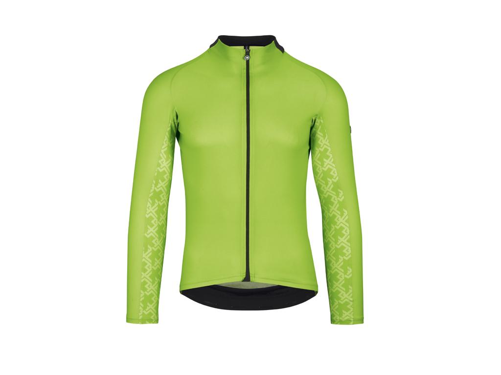 Image of   Assos Mille Jersey GT - Cykeltrøje m. lange ærmer - Hi-Vis grøn - Str. L