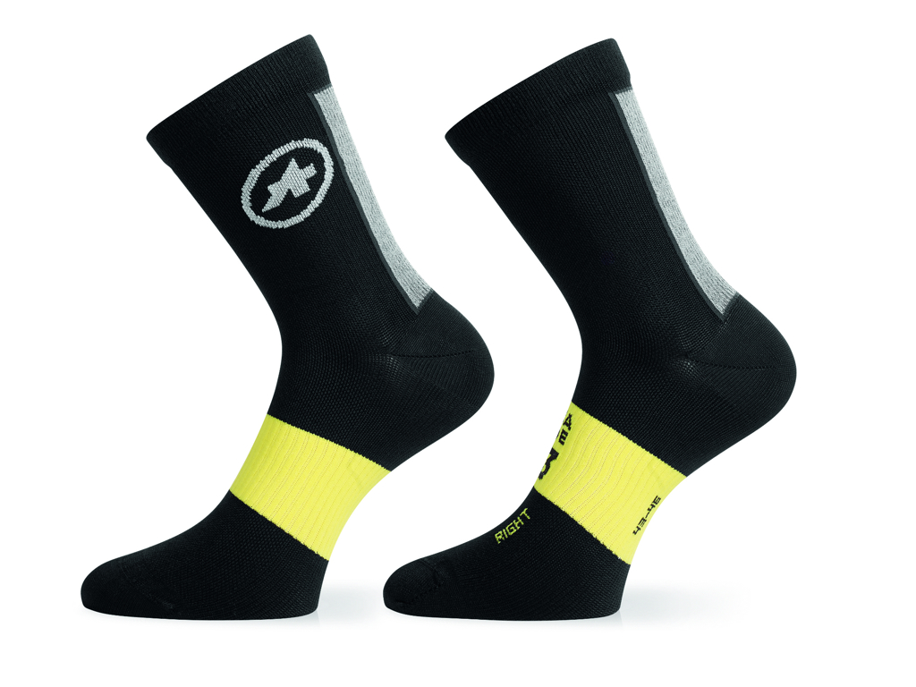 Image of   Assos Spring/Fall Socks - Cykelstrømper - Sort - Str. I