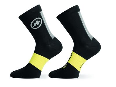 Assos Spring/Fall Socks - Cykelstrømper - Sort