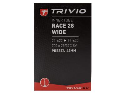 Trivio Cykelslange - 700 x 25-32 (25-32x622-635) - 48 mm racerventil