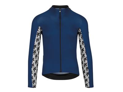 Assos Mille Jersey GT - Cykeltrøje m. lange ærmer - Blå
