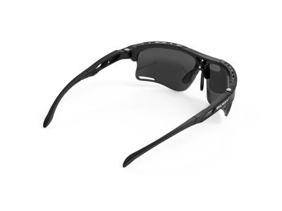 Rudy Project Keyblade - Løpe- og sykkelbriller - Røyklinser - Mattsvart