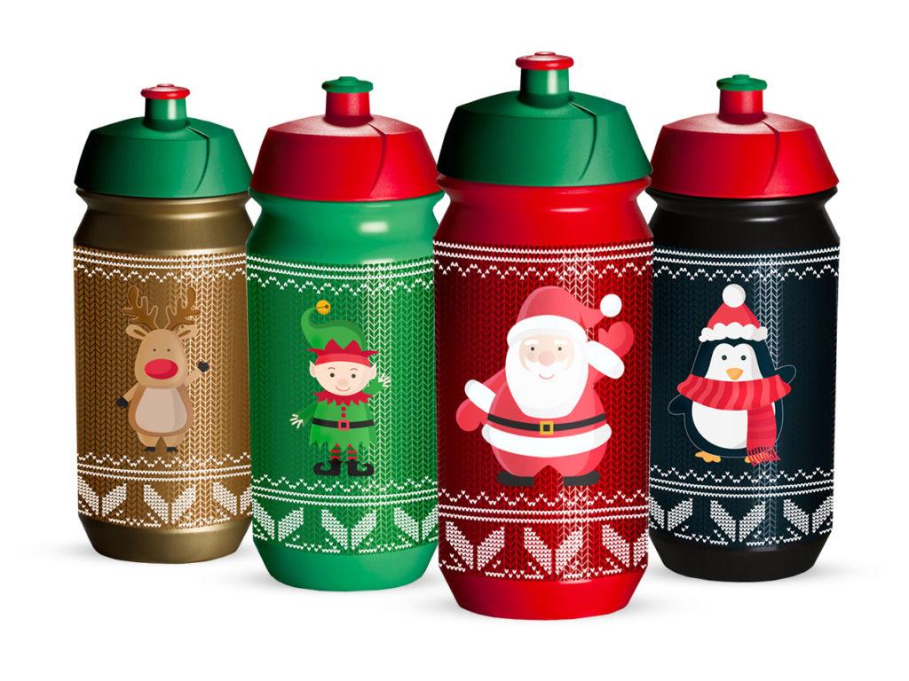 Tacx Shiva Christmas - Drikkeflaske - 500 ml