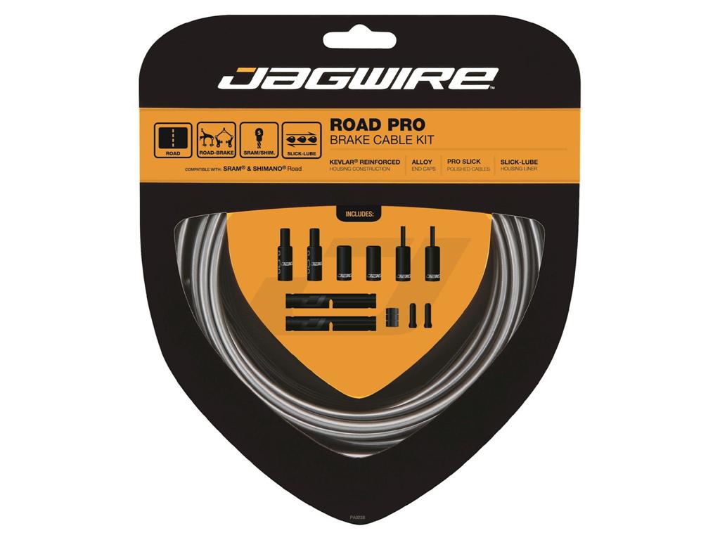 Image of   Jagwire - Road Pro - bremsekabel sæt til Road - Grå