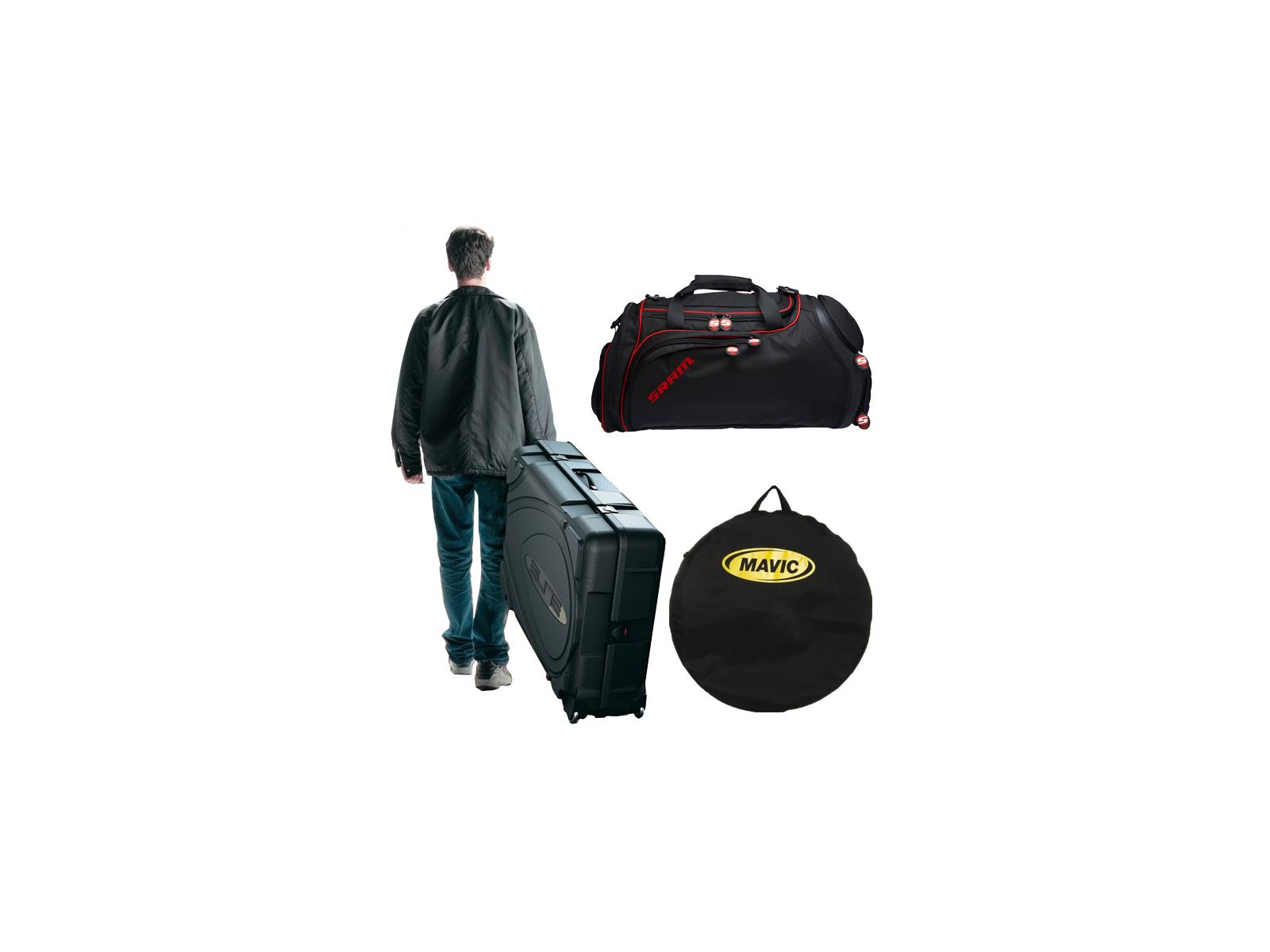 Cykelkuffert, transport- og hjultasker