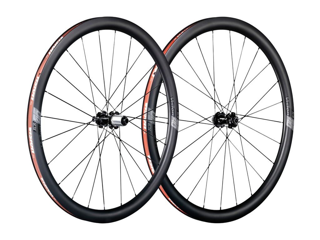 Vision SC40 Disc Center Lock - Hjulsæt - 700c - Clincher - 11 gear - Sort thumbnail