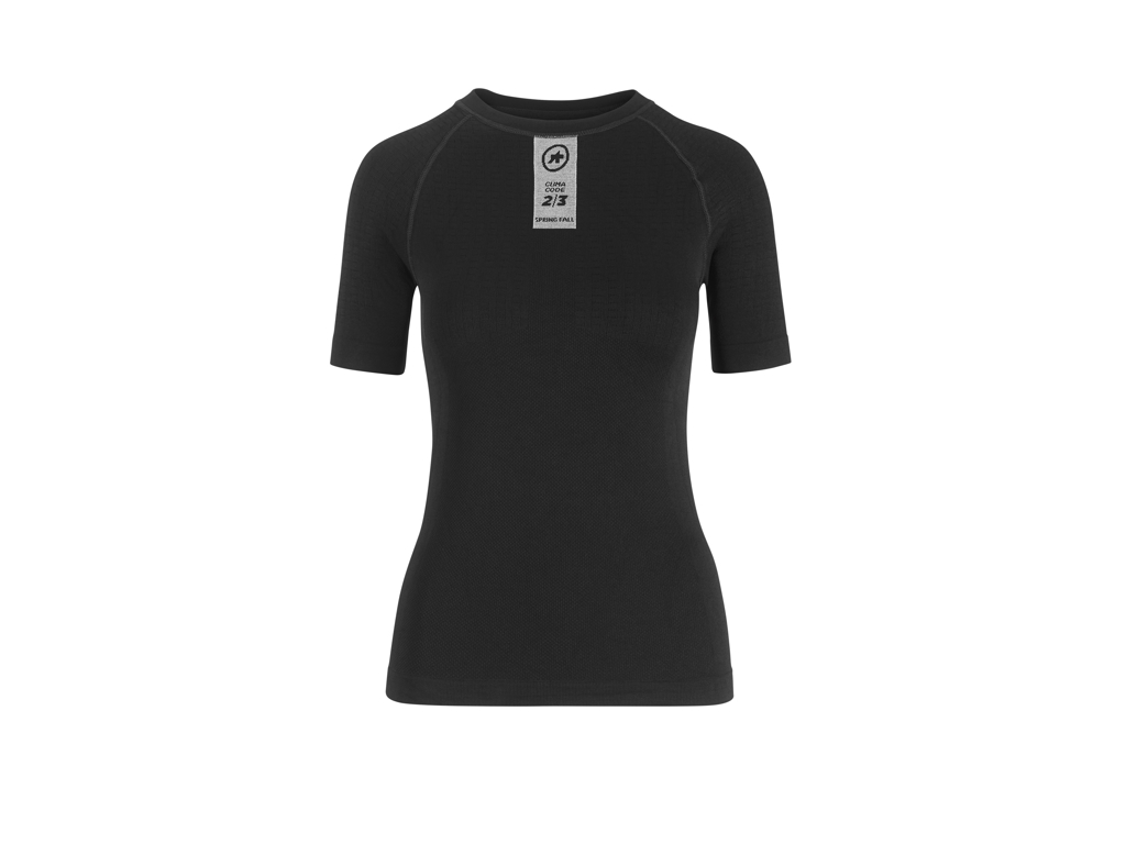 Assos Skinfoil Spring/Fall Base Layer - Svedundertrøje - K/Æ - Sort - Str. III thumbnail