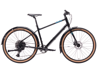 Kona Dew Deluxe - City Bike - 12 Gear - Sort - Str. M