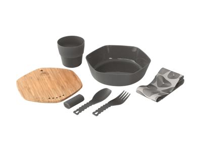 Robens - Leaf Meal - Servicesæt - Sort/Natur