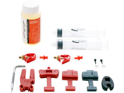 Udluftningskit, bremsevæsker og værktøj