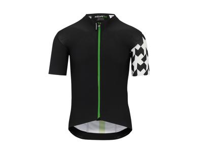 Assos Equipe RS Aero SS Jersey - Cykeltrøje - Sort/grøn