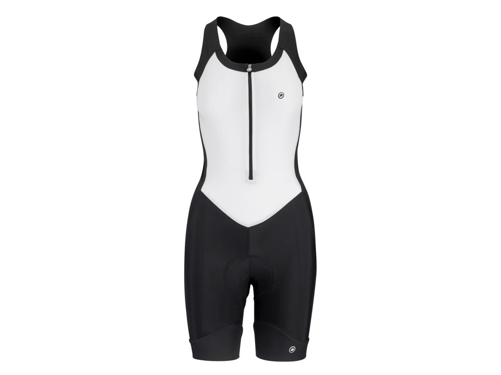 Image of   Assos Uma GT NS Body Suit - Dame cykeldragt - Sort/hvid - Str. XLG