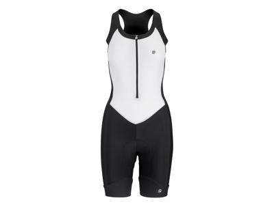 Assos Uma GT NS Body Suit - Dame cykeldragt - Sort/hvid