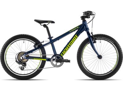 "Eightshot X-Coady 20 - MTB Børnecykel 20"" - Grøn/Blå"