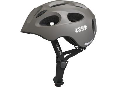 Abus Youn-I - Cykelhjelm - Grå metallic - Str. 48-54cm