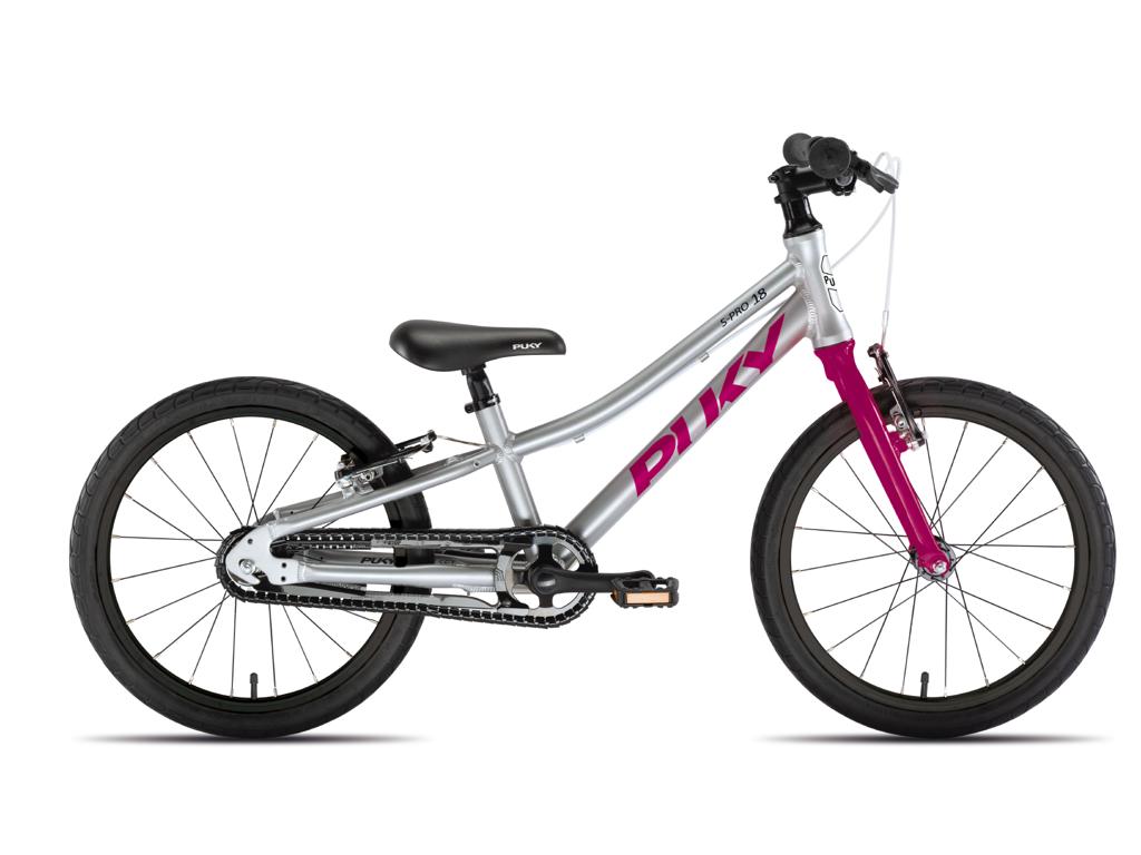 """Puky - S-Pro 18"""" Alu - Børnecykel"""
