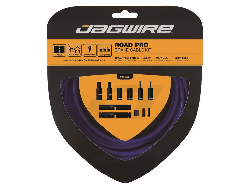 Image of   Jagwire - Road Pro - bremsekabel sæt til Road - Blå