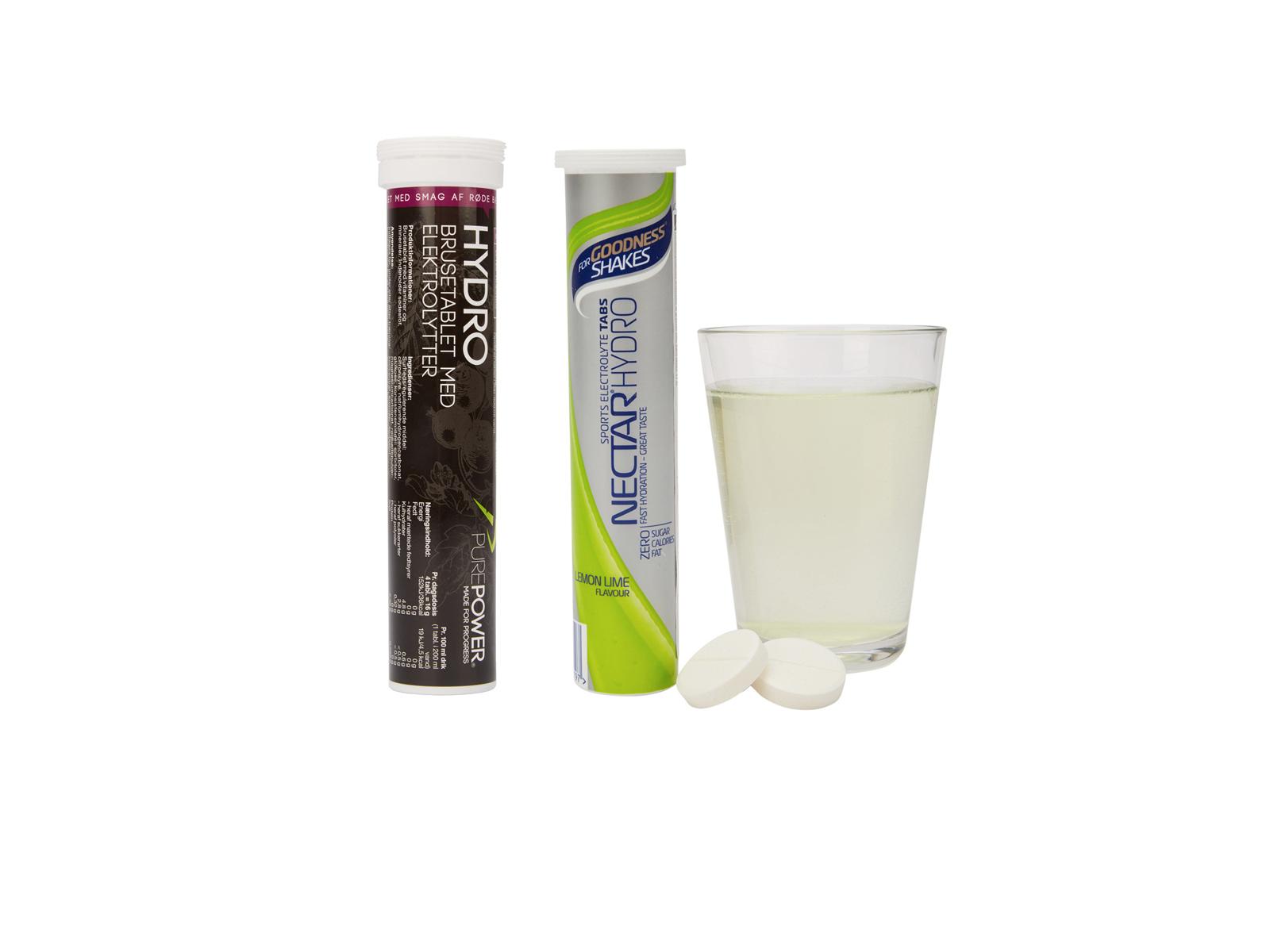 Elektrolyt Tabletter & Tabs
