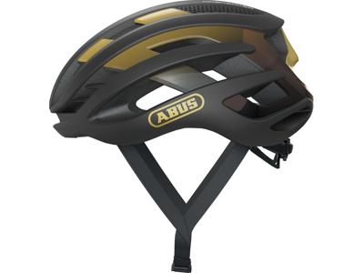 Abus AirBreaker - Cykelhjelm - Sort/guld