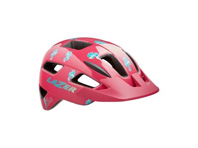 Lazer Lil Gekko - Cykelhjelm barn - Str. 46-50 cm - Pink Sea Pony