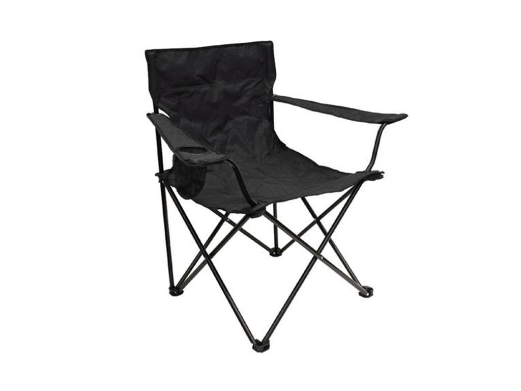 Campingmöbler till tältturen Stolar, tältsängar, underlag etc.