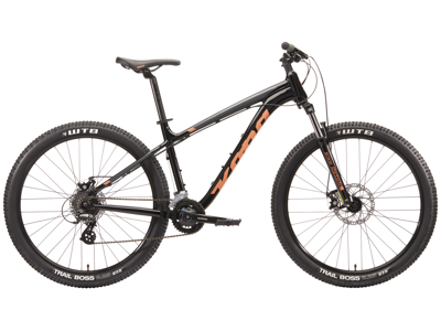 "Kona Lana'i - MTB - 27,5"" - 16 Gear - Sort - Str. M"