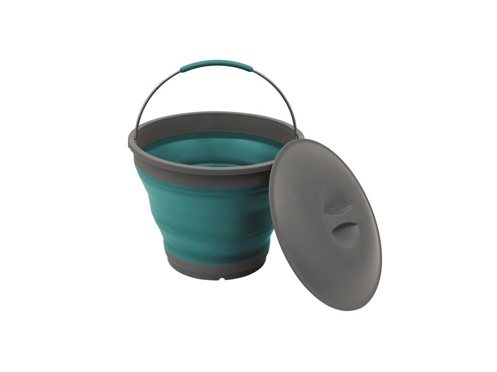 Outwell Collaps Bucket - Foldbar Spand - Blå thumbnail