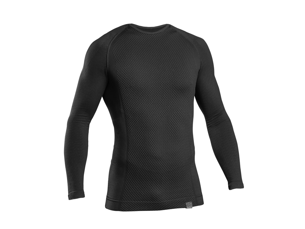 GripGrab Expert Seamless Thermal Base Layer LS 6010 - Svedundertrøje - Sort - Str. XS/S