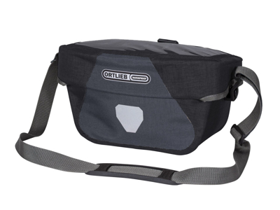 Ortlieb Ultimate Six Plus - Styrtaske - 5 liter - Grå/sort